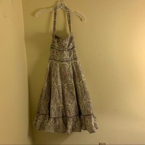 "NWT Anthropologie ""Girl from Savoy"" halter dress"